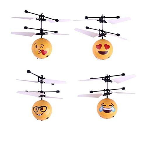Kleinkind Kostüm Für Schmetterling (QUINTRA Handfliegen Emoji Ball LED Induktion Suspension RC Flugzeug fliegen Spielzeug Drone)