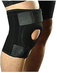 Genouillère Elyseesen Support de genou en néoprène élastique avec des garnitures de genou ajustable