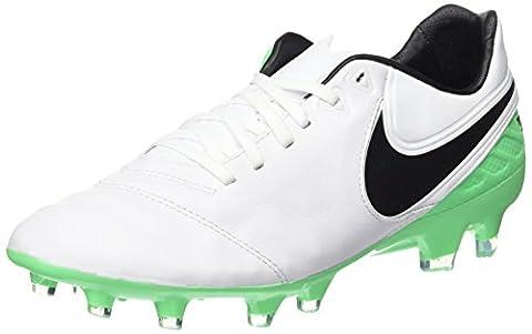 Nike Herren Tiempo Legacy II FG Fußballschuhe, Weiß (White/Black-Electro Green), 42 EU