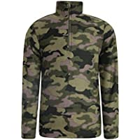 Mountain Warehouse Pursuit Kids Fleece - Printed, Lightweight Microfleece Jacket, Breathable Childrens Jacket, Quick Dry - Ideal All Season Coat in Cold Weather