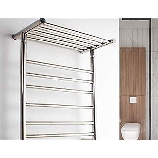 41wANqP5zHL. SS324  - LPW Toallero eléctrico toallero para baño tendedero de Acero Inoxidable para baño toallero toallero Rack