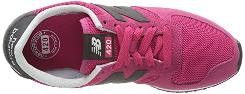 New Balance - U420 D, Sneaker Unisex – Adulto Rosa (Suede/Mesh Grey/Pink)