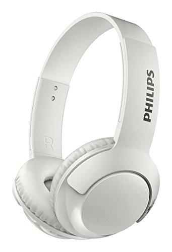Philips Bass+ Bluetooth Headphone White (SHB3075WT/27)