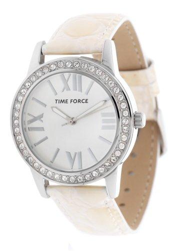 Time Force tf4087l11–Montre bracelet pour femme, bracelet en cuir