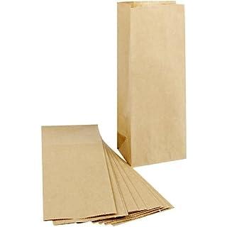 Brown Paper Bags, size 9cm x 6,5cm x 22,5 cm, 100 pc