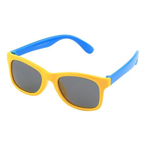Cgid occhiali da sole per bambini gommati flessibili lenti polarizzate per bimbi e bambini 3-6 anni,k25