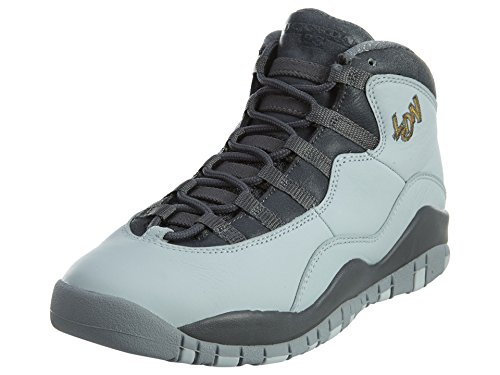 Nike Pr Pltnm / Mtllc Gld-Drk Gry-Cl, Scarpe da Basket Bambino Argento (Plateado (Pr Pltnm / Mtllc Gld-Drk Gry-Cl))
