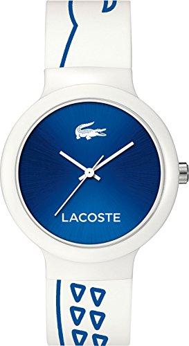 Lacoste Unisex Quartz Watch with Black Dial Analogue Display Quartz Silicone 2020094