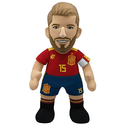 Bleacher Creatures Sergio Ramos 10'' Plush Figure - Spain National Team