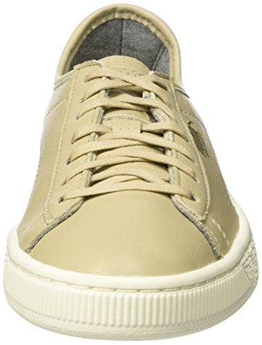 Puma Unisex-Erwachsene Basket Classic Soft Sneaker Beige (Safari)