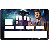 DECO-IDEES Doctor Who 2005, Credit card Sticker, limited edition 300 ex. - Personalize Your Credit Card Visa or MasterCard with These Removable Stickers
