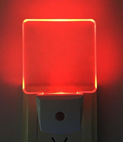 2Pcs Lámpara Nocturna Smart Automático Sensor 0.5W