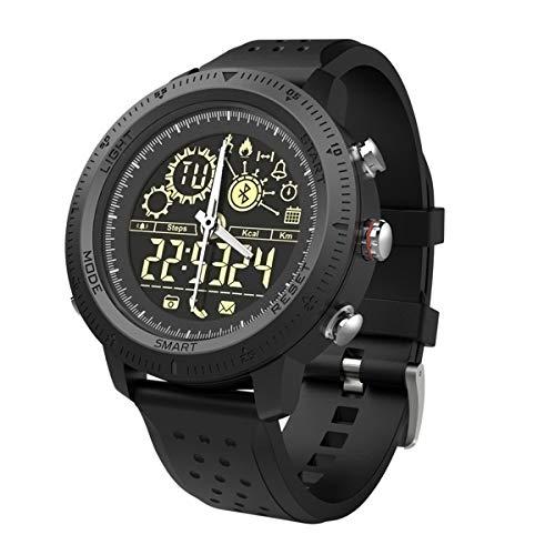 UMGZY Fitness Tracker Men Bracelet Luminous Dial Reloj Deportivo a Prueba de Agua para teléfonos con Dispositivos iOS Android,Black