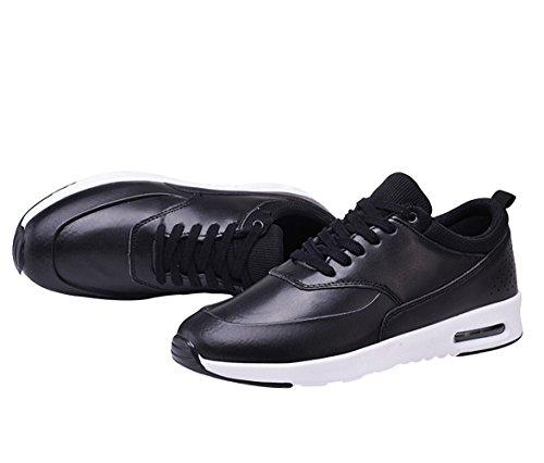 Weweya Chaussures de course à pied Homme Noir