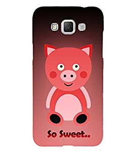 Teddy Bear 3D Hard Polycarbonate Designer Back Case Cover for Samsung Galaxy Grand Max G720