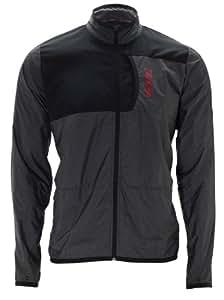 Zoot Herren Bekleidung M Performance Run Etherwind Jacket, Black/Zoot Red, XL, 2634202.1.1