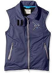 PFIFF Softshellweste Gawler - Chaleco de hípica para mujer, color Azul, talla XL