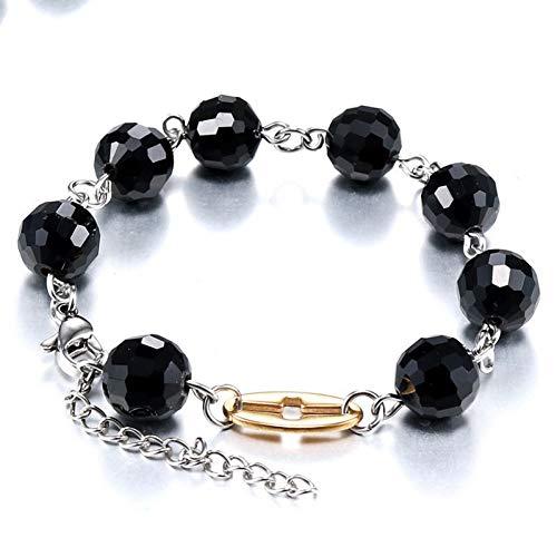 HUSHOUZHUO Edelstahl -Armband -Armbänder Perlen Armband Armbänder PerlenGeschenke Für FrauenAlptraum Vor WeihnachtenBoho