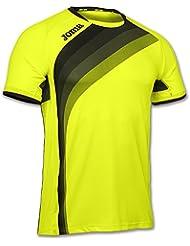 Joma Elite V Camiseta, Unisex Adulto, Amarillo Fluor, M