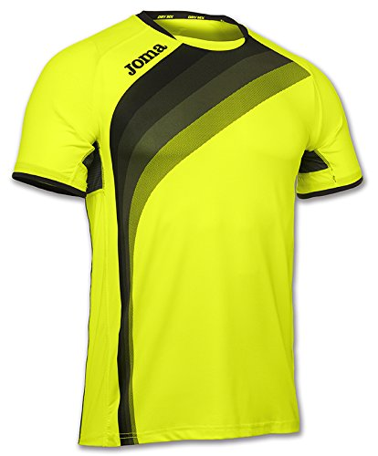 Joma Herren Elite V T-Shirt Gelb (Amarillo Fluor)