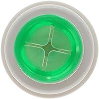 2 soportes Vanker para colgar paños de cocina o toallas de baño, color verde