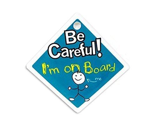 bébéà bord De Attention Signe De Voiture avec ventouse s'en tenir pour vitre De voiture