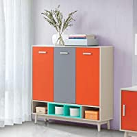 Maison Concept Radiant Cabinet, Multi Color - H 1180 x W 350 x D 1182 mm