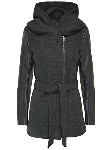 ONLY -  Cappotto  - Donna Grigio (Dark Grey Melange) S