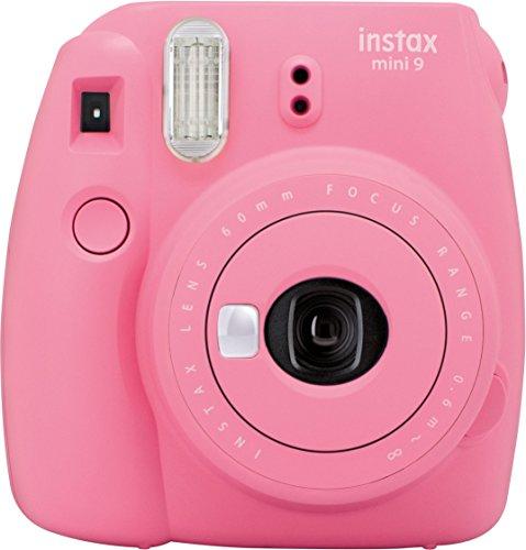 Fujifilm Instax Mini 9 Kamera flamingo rosa mit Tasche