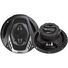 Boss Audio Systems Onyx De 4 vías altavoz audio - Altavoces para coche (De 4 vías, 400 W, 4 Ω, 90 dB, 65 - 20000 Hz, 5,71 cm)