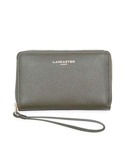 Lancaster Paris Damen 12917Vertmili Grün Leder Brieftaschen