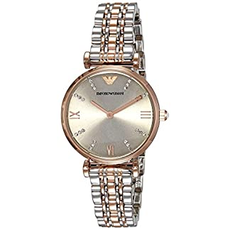 Emporio Armani Analog Silver Dial Women's Watch – AR1840