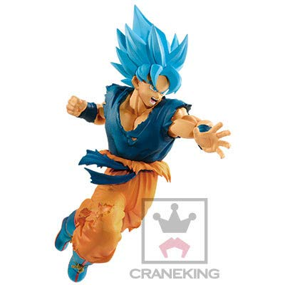 Banpresto. Dragon Ball Super Broly Figure Son Goku SSGSS Ultimate Soldiers The Movie Ahora Disponible!