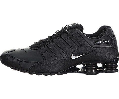 Nike Men's Shox NZ Running Shoe Black - 7 D(M) US