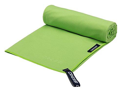Cressi Microfibre Fast Drying Toalla de Sport, Unisex Adulto, Verde, 30x50cm