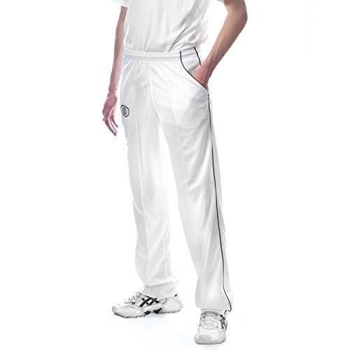 New OSG Cricket Playing Kit Trousers Whites Flannels Match Trouser Pants