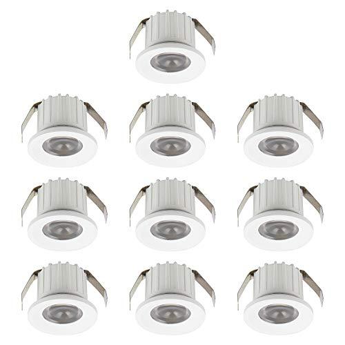 Mini foco LED de 3 W, 220 V, 300 lúmenes, ángulo de...