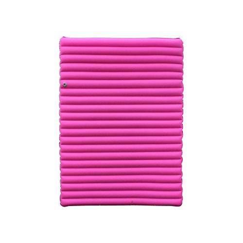 JCOCO-Luftbetten Aufblasbares Kissen im Freien Zelt-Schlafkissen Im Freien aufblasbares Bett Zelt aufblasbares Kissen Multifunktionales aufblasbares Bett (Farbe : Rosa)