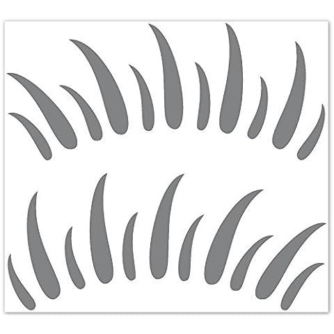 Carstyling Twingo - Pegatina decorativa estilosa New Beetle- existe en 30 colores - Color plata