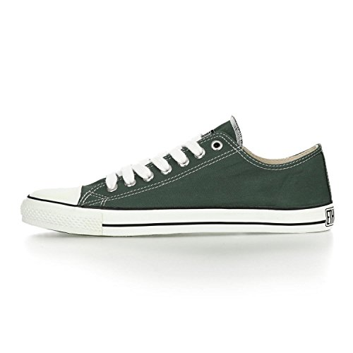 Ethletic Sneaker LoCut – reseda green / white – stylische fair trade Schuhe - 3