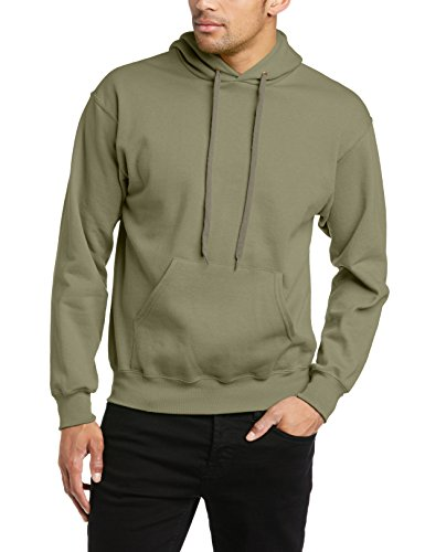 fruit-of-the-loom-mens-pullover-hooded-sweatshirt-classic-olive-large