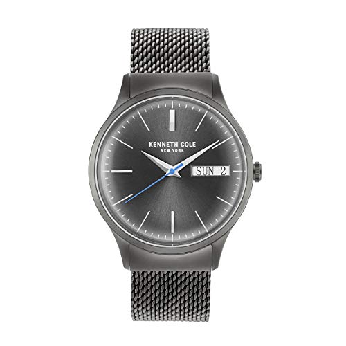 Kenneth Cole New York Reloj de Hombre Reloj de Pulsera Acero Inoxidable kc50587003