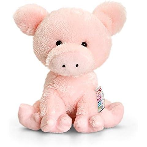 Keel Juguetes - muñeco de nieve en forma de cerdo de 14 cm, Pippins serie