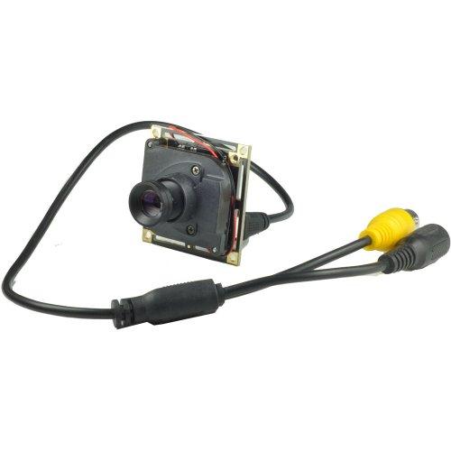 12mm Objektiv lang Winkel Spy Board Mini Kamera Pinhole Kamera 1000TVL CMOS mit IR-Cut CCTV versteckte CCTV Sicherheit Kamera (Mini-board-kamera)