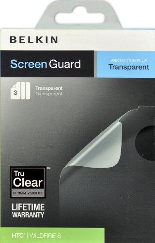 Belkin Screen Overlay für HTC, 06, transparent, 3 Stück -