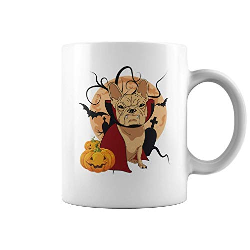 Halloween French Bulldog Mug | 11 oz Funny Coffee Mug
