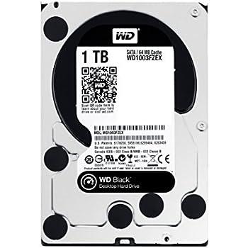 WD 1TB BlackInternal Desktop Hard Drive (WD1003FZEX)