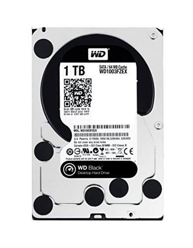 WD 1TB Black  Internal Desktop Hard Drive (WD1003FZEX)