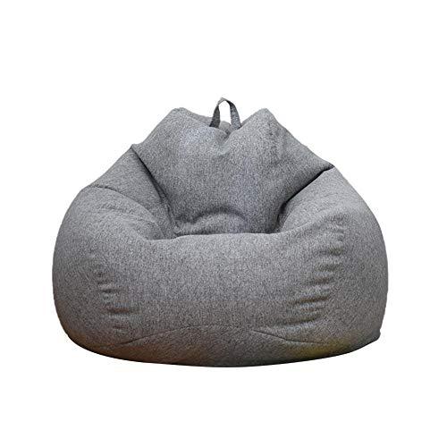Fodera per divano,fodera per poltrona a sacco per divano,fodera per divano pigra rimovibile,sedia comoda per poltrona a sacco,sedia per poltrona a sacco all'aperto per adulti e bambini-90x110 cm