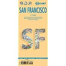 San Francisco: 1:13 000. Einzelkarten: San Francisco Downtown 1:13 000, Alcatraz Island 1: 15 000, Golden Gate Park 1:13 000, San Francisco & Region ... USA administrative & time zones (Borch Maps)